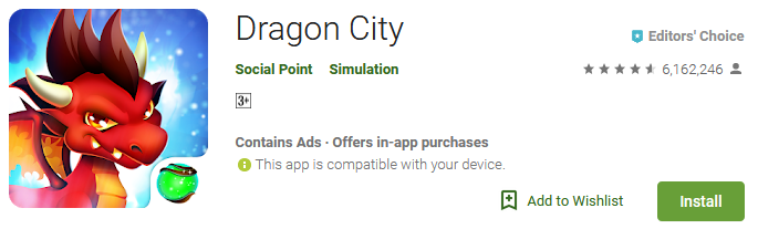 dragon city game free download
