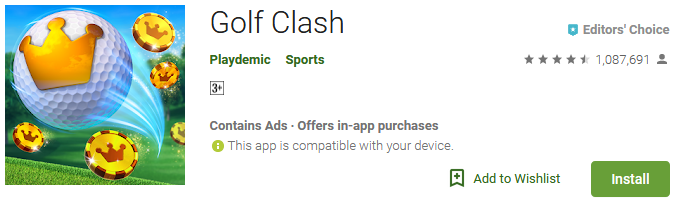golf clash game download