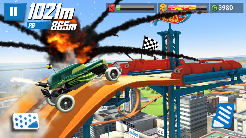hot wheels race off cars