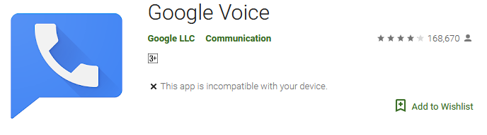 Download Google Voice Mail App