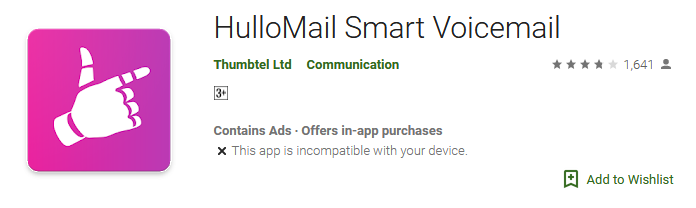 Download HulloMail Smart Voicemail app
