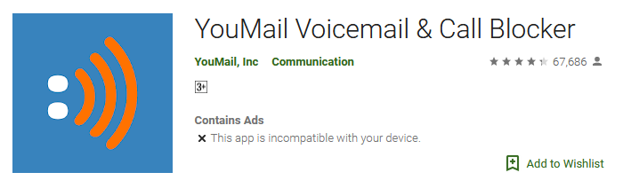 Download YouMail Voicemail app