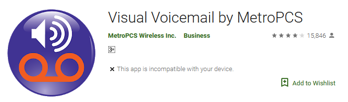 Download free Visual Voicemail by MetroPCS