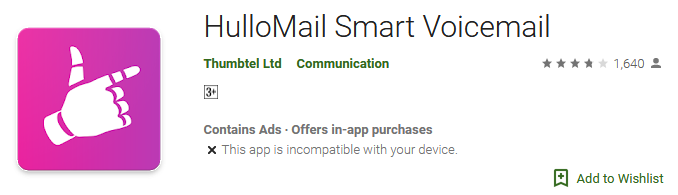HulloMail Smart Voicemail