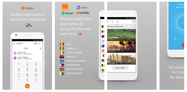 Libon - International calls App