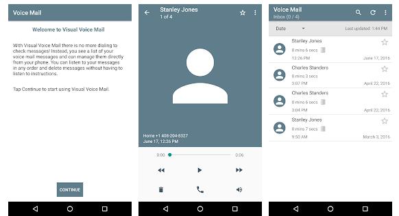 Verizon Visual Voice Mail