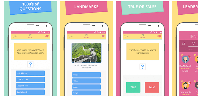 Android trivia 360 online Free Downloads