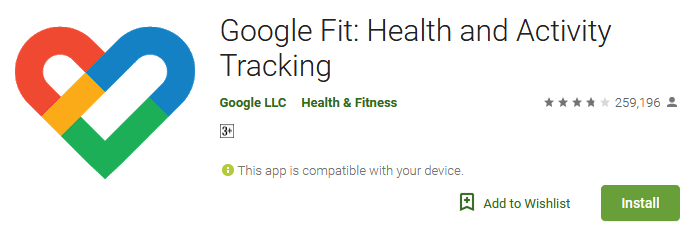 Download Google Fit Apps