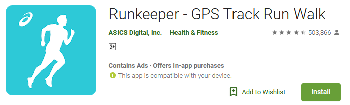 Download Runkeeper App - GPS Track Run Walk