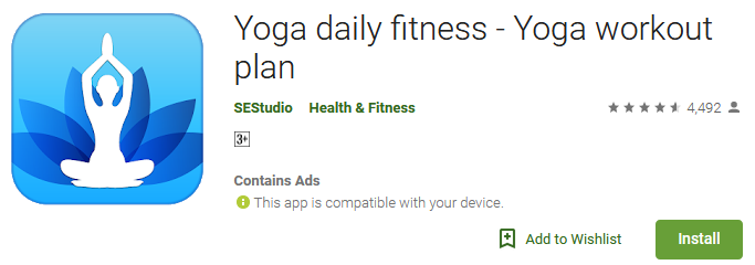Download Yoga daily fitness - Yoga workout plan