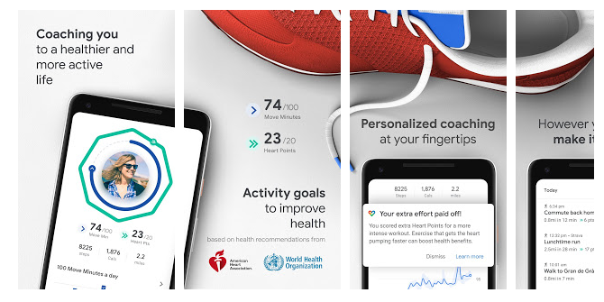 Google Fit - Android Fitness apps
