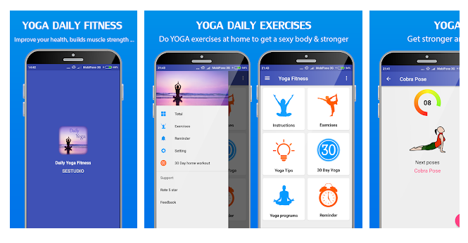 Yoga daily fitness App - Yoga workout plan