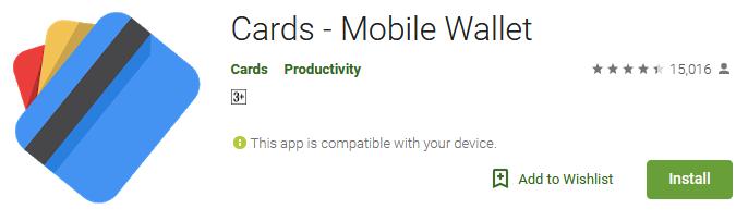 Cards - Mobile Wallet App Download