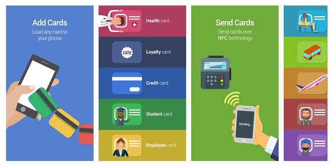 Cash Cards Mobile Wallet App