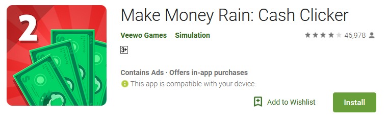 Make Money Rain - Cash Clicker Download