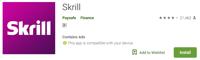 Skrill Best global cash App
