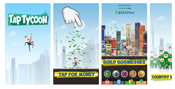 Tap Tycoon Apps for Android