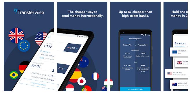 TransferWise Apps