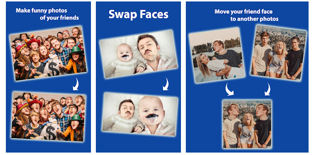 Cupace - Cut and Paste Face Photo App