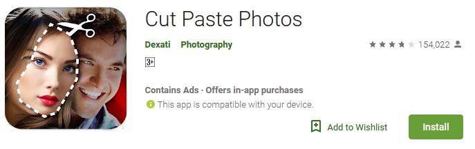 Cut Paste Photos App 2019