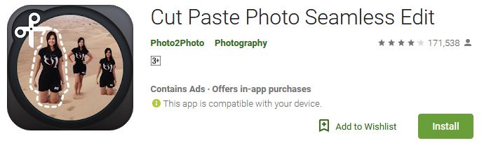 Download Cut Paste Photo Seamless Edit App