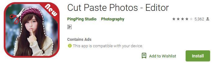 Download Cut Paste Photos - Editor App