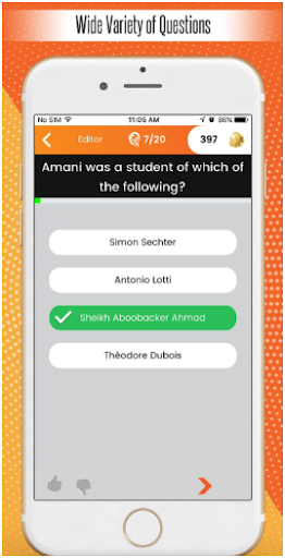 Quiz Pursuit Trivia Game App