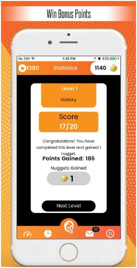 Quiz Pursuit is a fun quiz app