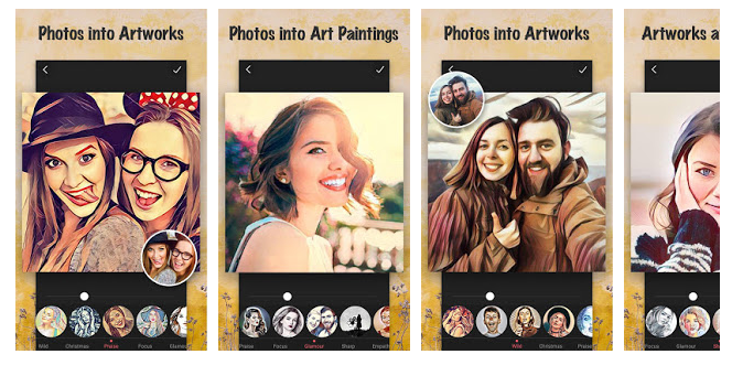 Cartoon Picture Filters App