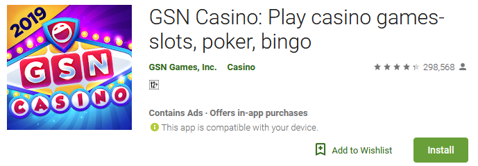 Download GSN Casino games