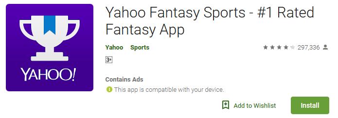 Download Yahoo Fantasy Sports