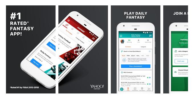 Android Yahoo Fantasy Sports App