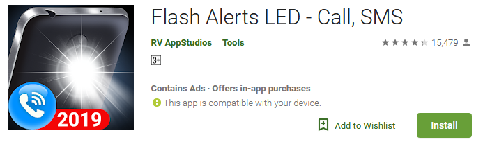 Download Flash Alerts LED - Call, SMS App