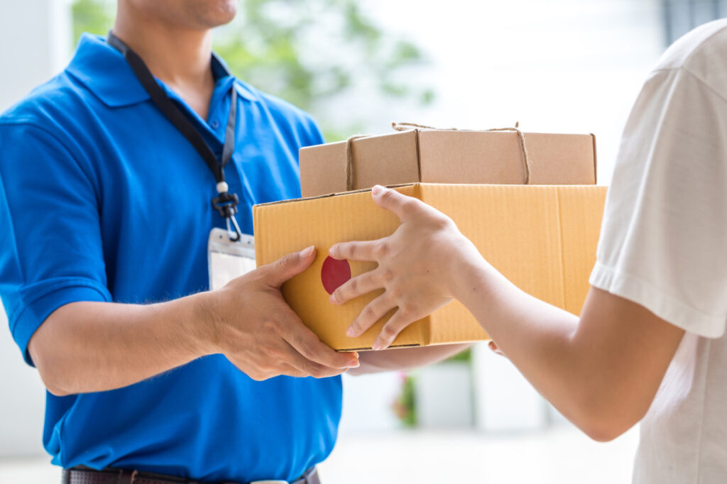 how to ship products to customers